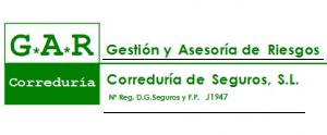 Logo perteneciente a la Correduria de Seguros G.A.R.